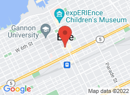 Location of Erie Playhouse on a map