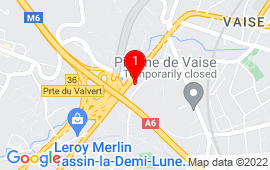 Google Map of 13+avenue+Victor+Hugo,