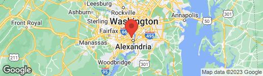 Map of 13 MOUNT IDA AVENUE W ALEXANDRIA, VA 22305