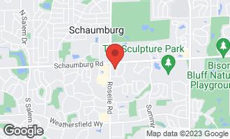 Map of 13 Quindel Avenue SCHAUMBURG, IL 60193