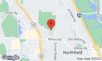 Map of 13 Rolling Ridge Road NORTHFIELD, IL 60093