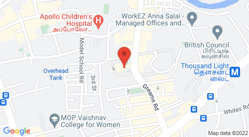 Our Address on map