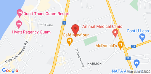 Directions to Jamaican Grill - Tamuning