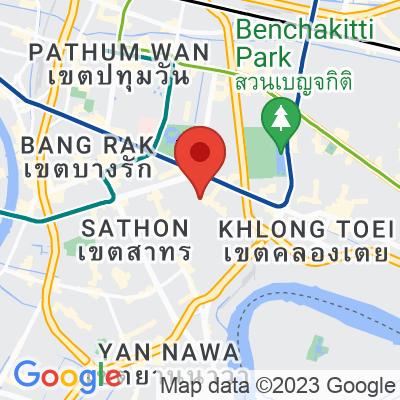 Map showing Lan Din Coffee