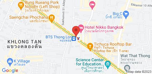 Directions to Hummus Boutique Bangkok