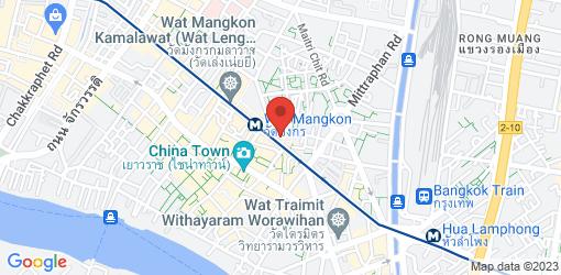 Directions to So Vegan - Yaowarat