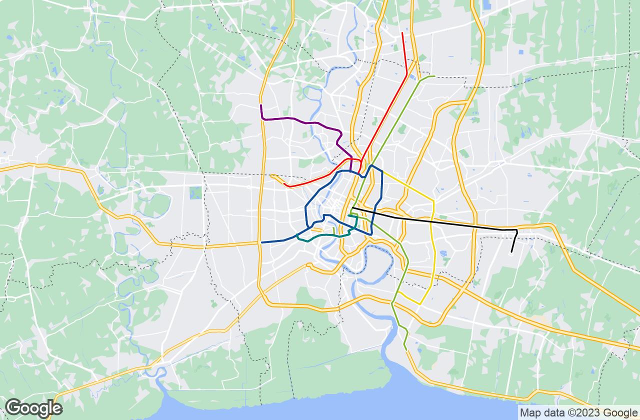 Google Map of بانكوك
