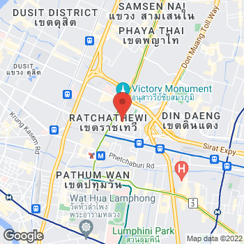 Map of Salvatore Ferragamo at No. 8/1 Rangnam Rd, Bangkok, Bangkok 10400