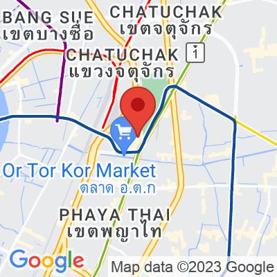 Map showing Craft Coffee JJ Market