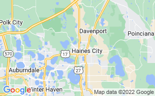 Map of Haines City RV & MH Park