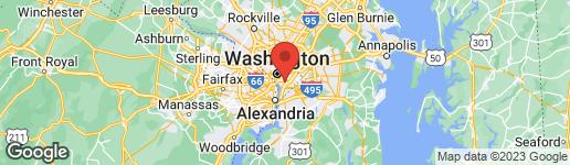 Map of 1300 4TH STREET SE #805 WASHINGTON, DC 20003