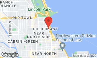 Map of 1300 North Lake Shore Drive 20AB CHICAGO, IL 60610