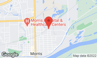 Map of 1302 Spruce Street MORRIS, IL 60450