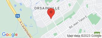 Google Map of 13029+BOUL+HENRI-BOURASSA%2CQuebec%2CQuebec+G1G+3Y5