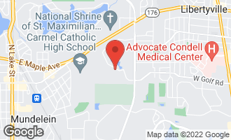 Map of 1303 Brandywine Road LIBERTYVILLE, IL 60048