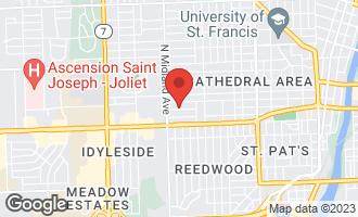 Map of 1303 Richmond Street JOLIET, IL 60435