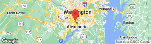Map of 1307 BAYLISS DRIVE ALEXANDRIA, VA 22302