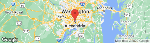 Map of 1307 E ABINGDON DRIVE #1 ALEXANDRIA, VA 22314