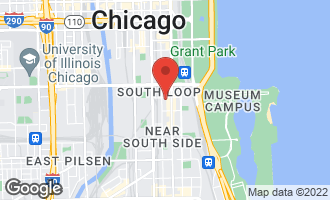 Map of 1307 South Wabash Avenue #705 CHICAGO, IL 60605