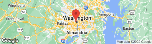 Map of 1308 29TH STREET NW WASHINGTON, DC 20007