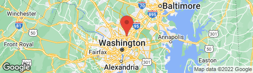 Map of 1308 XAVERIA DRIVE SILVER SPRING, MD 20903