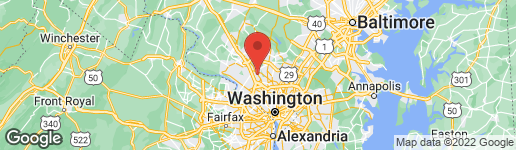 Map of 1309 TEMPLETON PLACE ROCKVILLE, MD 20852