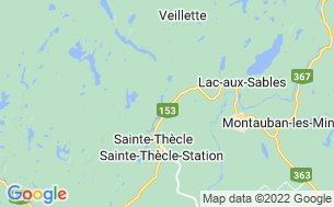 Map of Camping Lac Et Forêt