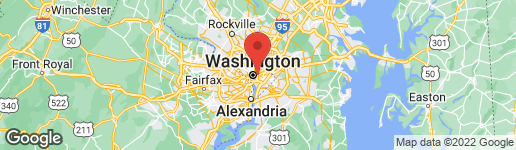 Map of 1310 CAPITOL STREET NW WASHINGTON, DC 20002