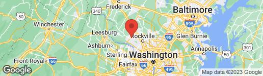 Map of 13100 CHESTNUT OAK DRIVE GAITHERSBURG, MD 20878