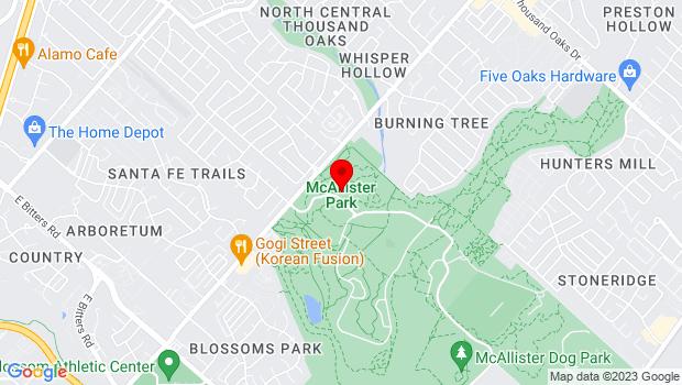 Google Map of 13102 Jones Maltsberger, San Antonio, TX 78247