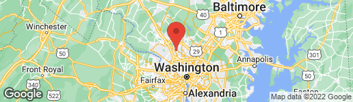 Map of 13117 ARDENNES AVENUE ROCKVILLE, MD 20851