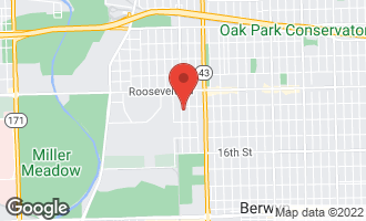 Map of 1312 Circle Avenue FOREST PARK, IL 60130