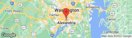 Map of 1312 MAIN LINE BOULEVARD #102 ALEXANDRIA, VA 22301