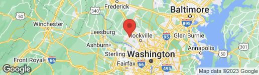 Map of 13120 CHESTNUT OAK DRIVE GAITHERSBURG, MD 20878
