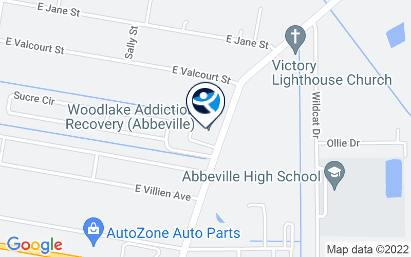 Woodlake Addiction Recovery Center - Abbeville Location and Directions