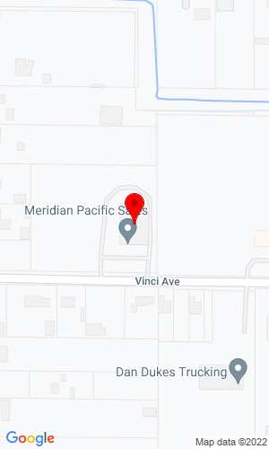 Google Map of West Coast Pneumatics, Inc. 1315 Vinci Ave Suite A, Sacramento, CA, 95838