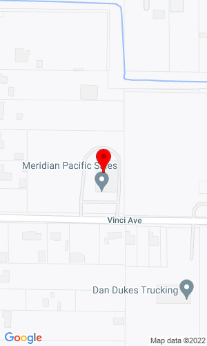 Google Map of Meridian Utility Equipment Sales, Inc. 1315 Vinci Avenue    , Sacramento, CA, 95838