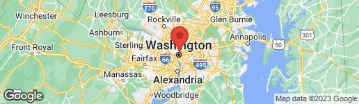 Map of 1316 HARVARD STREET NW #1 WASHINGTON, DC 20009