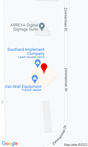 Google Map of Southard Implement 1318 West Street S, Grinnell, IA, 50112
