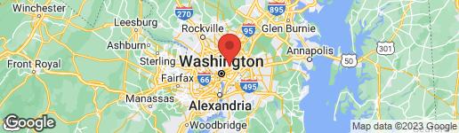 Map of 1318 UPSHUR STREET NE WASHINGTON, DC 20017