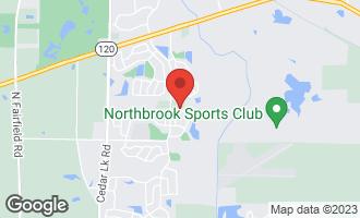 Map of 132 West Arlington Drive ROUND LAKE, IL 60073