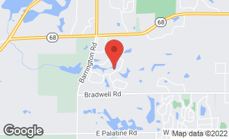 Map of 1320 Macalpin Drive INVERNESS, IL 60010