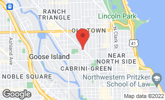 Map of 1322 North Clybourn Avenue 3N CHICAGO, IL 60610
