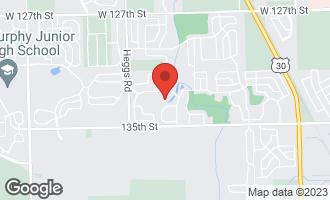 Map of 13244 Birdseye Court PLAINFIELD, IL 60585
