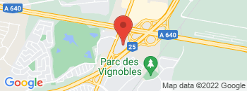 Google Map of 1325+Carr%C3%A9+Masson%2CTerrebonne%2CQuebec+J6W+6J7