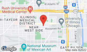 Map of 1325 West Fillmore Street A CHICAGO, IL 60607