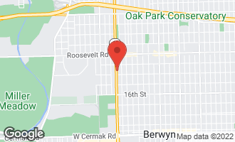 Map of 1327 Harlem Avenue BERWYN, IL 60402