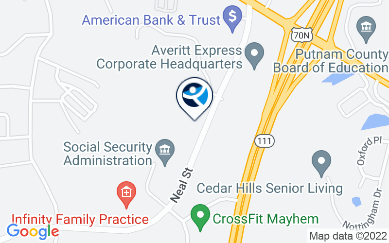 Bradford Health Services - Cookeville Location and Directions