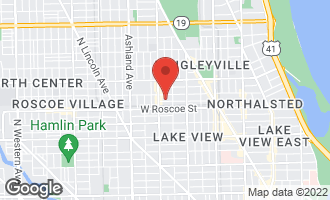 Map of 1330 West Newport Avenue CHICAGO, IL 60657