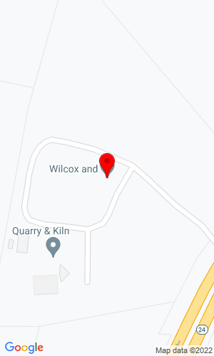 Google Map of Wilcox Tractor Sales 1334 Hwy 24/27, Midland, NC, 28107